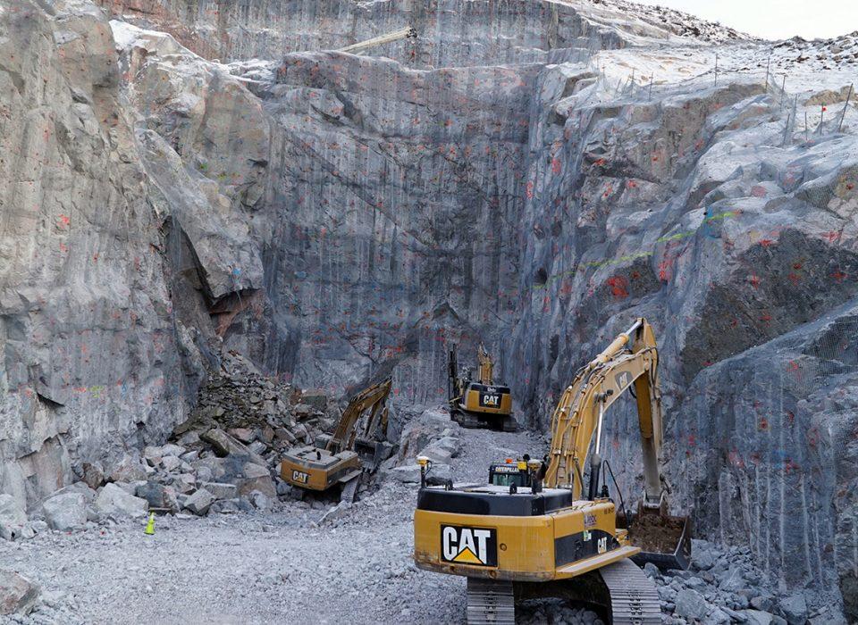 Décès d'un travailleur de l'entreprise EBC inc. sur le chantier hydroélectrique La Romaine