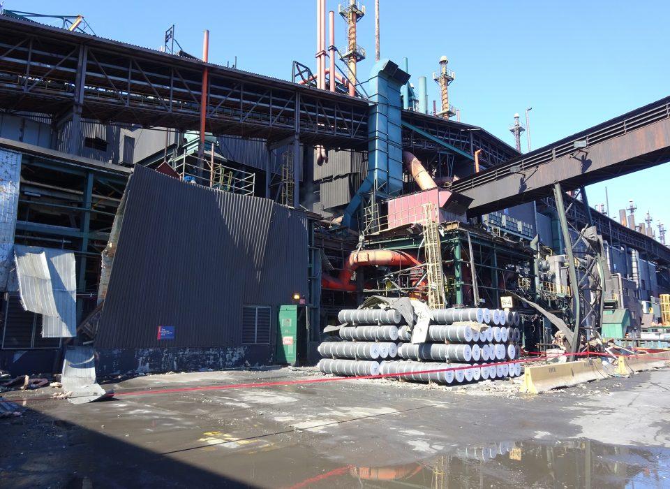 Explosion à l'usine de Rio Tinto Fer et Titane de Sorel-Tracy